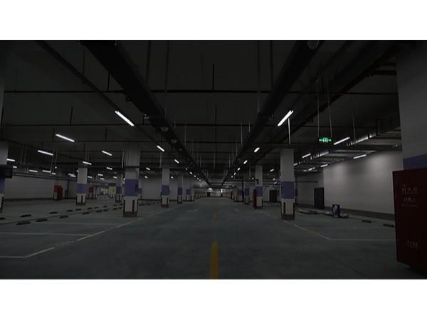 昆山中学地下停车库智能化工程已进入尾声