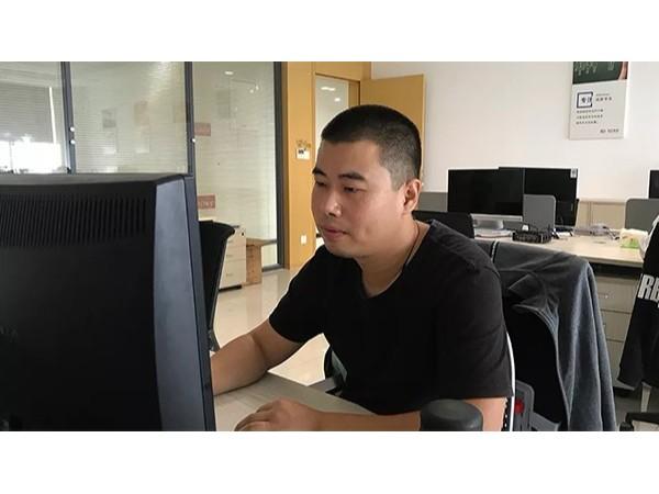 智能化工程行业优秀的市场专员——邓文杰