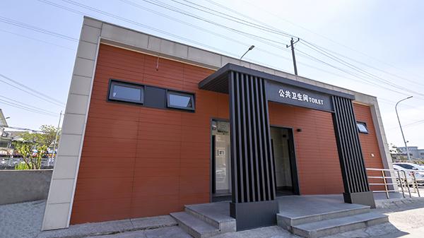 广福农贸市场智慧公厕