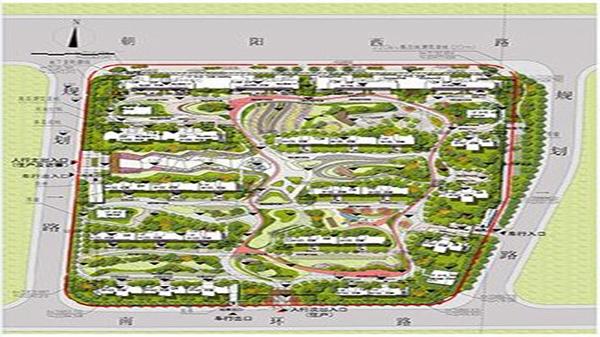金熹园平面图